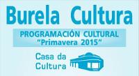 A Casa da Cultura de Burela acollerá música, exposicións e actividades para @s máis pequen@s durante a vindeira primavera.
