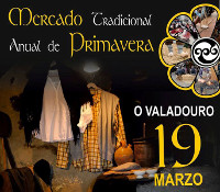 Todo está listo no Valadouro para a celebración o 19 de marzo do tradicional Mercado de Primavera. Haberá música, teatro, tapeo, premios e xogos tradicionais, entre outras actividades.