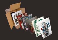 """Ata o 30 de xuño poderase ver no Centro Regal Xunqueira, en Viveiro, a exposición """"Cada tema para un loco""""."""