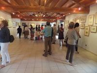 """Hasta finales de octubre puede visitarse en el complejo cultural Regal Xunqueira, en Viveiro, la exposición de acrílicos """"Lembranzas"""" de Gerardo Ayala."""