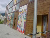 """Ata o 30 de xuño pódese visitar na Casa da Cultura, en Burela, a primeira bienal de artes plásticas """"O vento"""", que organizan Os Aventados e a Amigos de RegalXunqueira."""