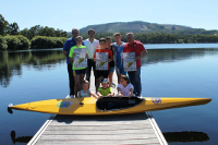 O Club Deportivo San Ciprián organiza a regata de piragüismo San Ciprián-Cervo, que se celebrará o 2 de xullo no embalse de Río Cobo.