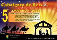 Os Reis Magos chegarán ao Valadouro o 5 de decembro ás sete da tarde. Unha vez rematada a cabalgata haberá chocolate para todos os asistentes.