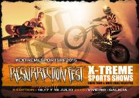 Deportes extremos y fiesta de presentación en el Resurrection Fest 2015, que se celebrará en Viveiro del 16 al 18 de julio.