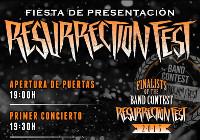 Este sábado, 16 de mayo, tendrá lugar en Madrid la fiesta presentación del Resurrection Fest. Será en la sala We Rock, donde también se celebrará la batalla final de bandas del Band Contest.