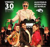 O 30 de decembro chegan a Burela Os Rockenstein, un musical familiar que fará as delicias de nen@s e adultos. As entradas en venta anticipada pódense mercar por 5 euros.