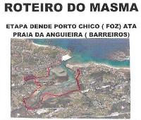 O Concello de Barreiros organiza o Roteiro do Masma cunha etapa dende Porto Chico, en Foz, ata a praia da Anguieira este domingo, día 26.