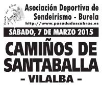A asociación Pasada das Cabras, de Burela, fará o vindeiro sábado, 7 de marzo, a ruta Camiños de Santaballa.