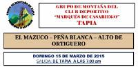 El grupo de montaña del club deportivo Marqués de Casariego, de Tapia, prepara una ruta por la Sierra de Cuera para el 15 de marzo.