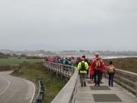 O grupo de sendeirismo da ACD Xove viaxará á Costa da Morte o 12 de abril para facer a primeira etapa da Ruta O Camiño dos Faros.