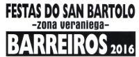 Do 22 ao 24 de agosto celébranse as Festas do San Bartolo, en Barreiros, na zona veraniega.