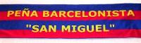A Peña Barcelonista San Miguel celebrará o vindeiro domingo, 20 de decembro, a súa comida de Nadal. Será en Benquerencia.