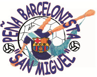 A peña barcelonista San Miguel inicia nova tempada con dúas actividades este mes: churrascada o día 18 e desprazamento a Xixón o 24 para animar ao Barcelona.