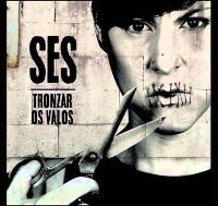 "Sés presentará o seu terceiro disco ""Tronzar os valos"" no Auditorio Municipal de Ribadeo este sábado, 18 de abril, a partir das oito e media da tarde."