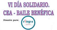 Barreiros celebra o VI Día Solidario o 10 de xuño cunha cea baile benéfica a favor da asociación Ring 14.