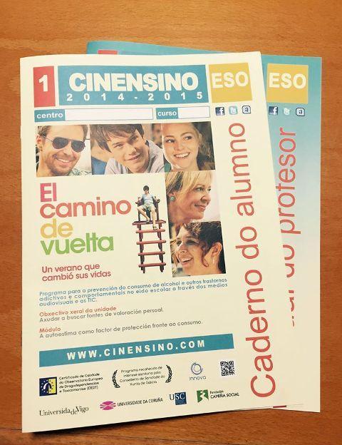 Este venres o Cine Teatro de Ribadeo acollerá a proxección da película El camino de vuelta, dentro do programa Cinensino do Concello. Máis de 200 alumn@s participan nesta nova edición.
