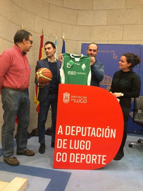Cervo acollerá o 25 de febreiro o 1º Circuíto de Baloncesto Precadete Masculino, que tamén pasará por Láncara, Vilalba, Quiroga e A Fonsagrada. O evento foi presentado na Deputación de Lugo.