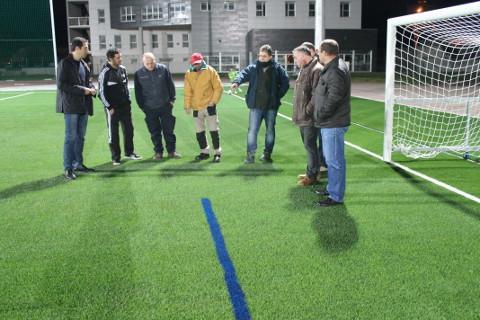 As categorías de fútbol base de Cervo protagonizarán a apertura do campo de fútbol da Veiga este domingo, 22 de febreiro, tras a súa remodelación.