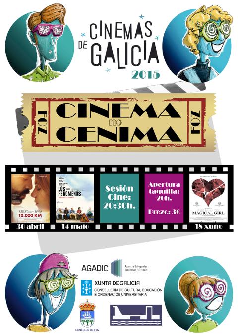 """Última proxección do ciclo Cinema no Cenima este xoves, 18 de xuño, en Foz. O filme que se poderá ver é """"Magical girl""""."""