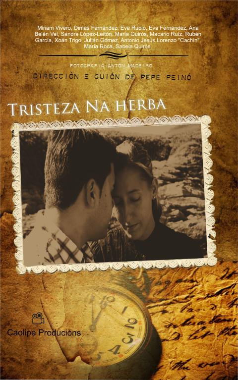 """O sábado, 21 de marzo, estréase en Ferreira do Valadouro unha nova película de Caolipe Producións. Trátase de """"Tristeza na herba""""."""