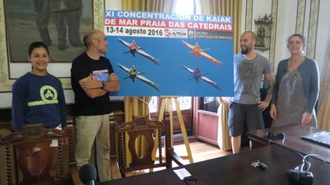 Os días 13 e 14 de agosto terá lugar a XI Concentración de kaiaks de mar Praia das Catedrais, que reunirá a preto de medio centenar de participantes.