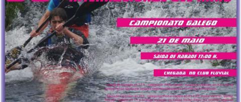 Los días 21 y 22 de mayo el Club Kayak de Foz se enfrenta a dos nuevas citas competitivas: el LX Descenso Internacional del Miño-Lugo y la 3ª Regata de la Liga Gallega de Infantiles A y B.