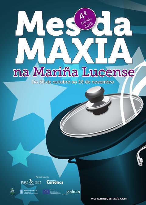 Vinte restaurantes da comarca participarán do 30 de outubro ao 28 de novembro na cuarta edición do Mes da Maxia, que organiza a Mancomunidade de Municipios da Mariña.