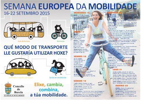 Ata o 22 de setembro seguen en Burela as actividades da Semana Europea da Mobilidade. Este domingo estará pechada ao tráfico a rúa Pardo Bazán, entre Curros Enríquez e Eijo Garay.