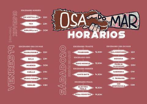 Burela vibrará ao ritmo do Osa do Mar os días 19 e 20 de agosto. O evento foi presentado no Concello.