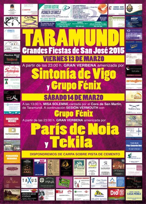 Taramundi celebrará sus fiestas de San José los días 13 y 14 de marzo.