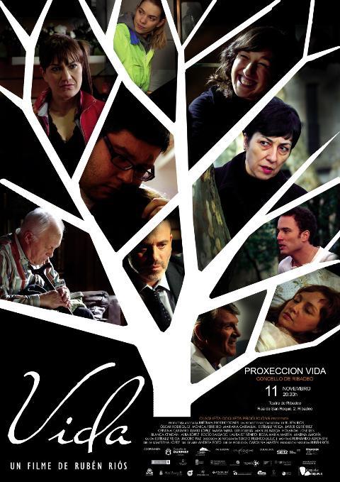 """O Teatro de Ribadeo acollerá o 11 de novembro a proxección de """"Vida"""", o último traballo como director de Rubén Riós."""