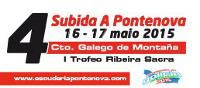 A cuarta subida á Pontenova terá lugar os días 16 e 17 de maio. Está organizada pola Escudería A Pontenova e a Área de Deportes da Deputación de Lugo.