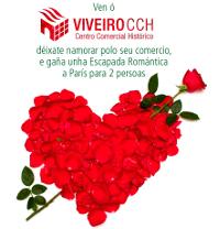 O Centro Comercial Histórico de Viveiro sortea unha escapada romántica a París. A campaña de San Valentín desenvolverase do 7 ao 14 de febreiro e o sorteo da viaxe será o 16.