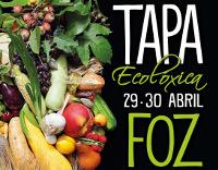 As tapas ecolóxicas, preparadas pola hostalaría focense, poderán degustarse nunha vintena de locais os días 29 e 30 de abril. Organiza: CCA de Foz.
