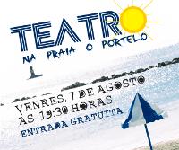 A praia de O Portelo, en Burela, será escenario o 7 agosto dunha representación teatral ao aire libre. A entrada é gratuíta.