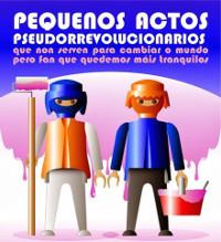 Este domingo, 5 de abril, haberá teatro en Ribadeo no auditorio municipal Hernán Naval: Pequenos actos pseudorrevolucionarios.