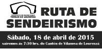 A Ruta do Deza será o próximo destino da asociación de sendeirismo Terras de Lourenzá. A saída está prevista para este sábado, 18 de abril.