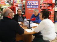 Este luns, 30 de novembro, haberá nova tertulia de Radio Voz A Mariña desde o Hipermercado Eroski de Ribadeo.
