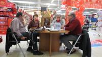 Nova tertulia de Radio Voz A Mariña este luns, 23 de novembro, desde o hipermercado Eroski, de Ribadeo.