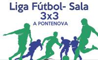Está aberta ata o 27 de decembro a inscrición na Liga de fútbol sala 3x3 da Pontenova, que organiza o Concello.