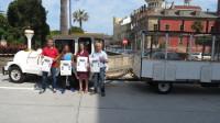 Ribadeo contará cun tren turístico-cultural ata o 30 de setembro, que percorrerá as zonas máis emblemáticas da vila.