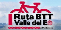 El domingo, 22 de marzo, se celebrará la I Ruta BTT Valle del Eo. Está organizada por la empresa EoAventura de A Pontenova.