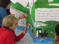 """A Pontenova acollerá este sábado, 4 de abril, a presentación do libro """"A Casa do Vapor"""", realizado por pícaros de catro municipios. É o resultado dun proxecto deseñado pola cooperativa ribadense MauMarela."""