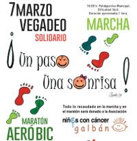 El 7 de marzo Vegadeo acogerá una marcha y un maratón de aeróbic solidarios. Los fondos recaudados irán destinados a niñ@s enfermos de cáncer.