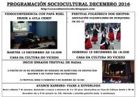 No Vicedo hai programadas varias actividades para celebrar o Nadal do 13 de decembro ao 7 de xaneiro.