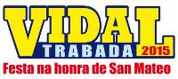 As festas da parroquia de Vidal, en Trabada, na honra de San Mateo, serán o 19 de setembro.
