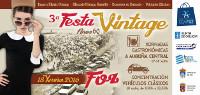 Fin de semana intensa a carón da III Festa Vintage, que organiza o Centro Comercial Aberto de Foz. Haberá moitas actividades os días 17 e 18 de xuño.