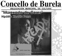 """Ata o 19 de xuño estará aberta na Casa da Cultura, en Burela, a exposición de HIpólito Xeada """"Marexada de cores""""."""