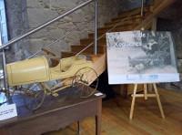 """No Castelo de Alfoz pódese visitar ata finais de xaneiro a exposición """"Colección de Xoguetes"""". A mostra está composta por 40 pezas."""