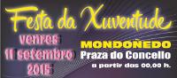 Este venres, 11 de setembro, celébrase en Mondoñedo a Festa da Xuventude, enmarcada dentro da programación das festas patronais de Os Remedios.